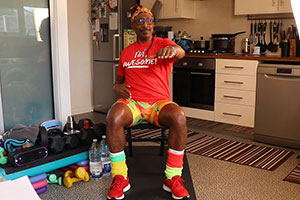 Continue to Keep Fit with Mr Motivator