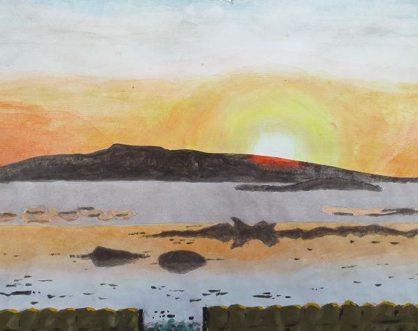 'Sunset at Lilia' by Paul Houston of Horley u3a