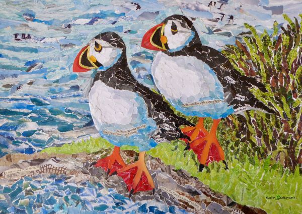 'Pair of Muffins' by Kath Coleman of Sully u3a