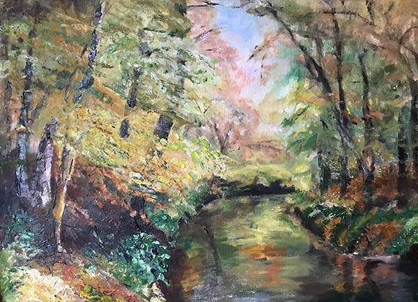 'Reflections' by Elizabeth Jackson of High Lane u3a