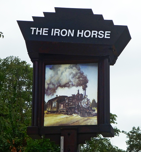 'Iron Horse' by Roy Morton of Sidcup & District U3A