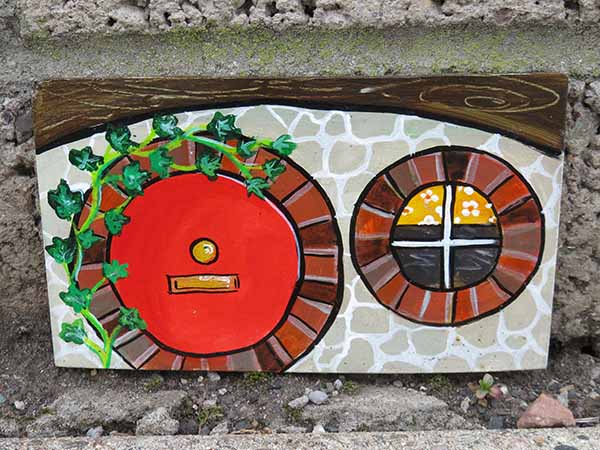 'The Hobbit Door' by Mike Taylor of Dundee U3A