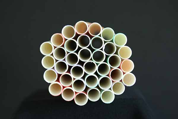 'Paper straws' by Paula Hayes of Hockley & Hawkwell U3A