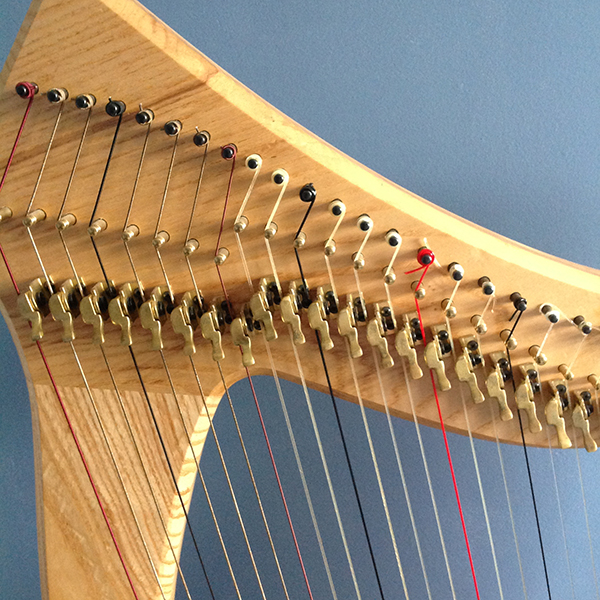 'Harp' by Jane Prout of Shepway & District U3A