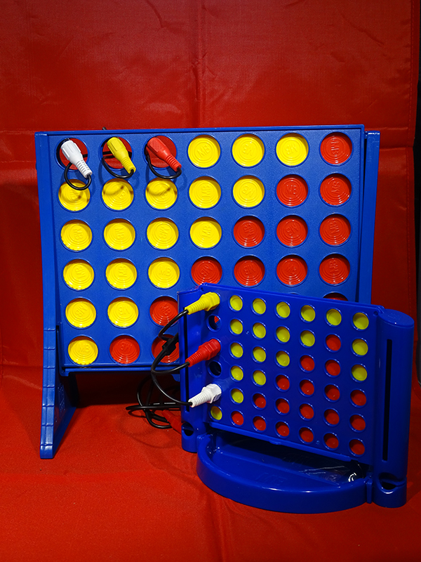'Connect 4'  by Alastair McMinn of Northallerton U3A