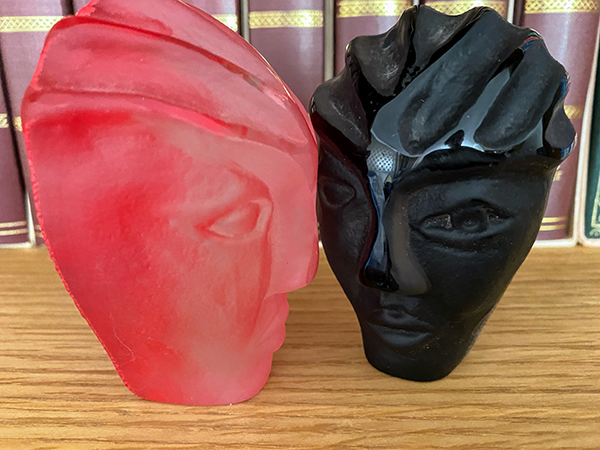 'Heads' by Ruth Askew of Preston & District U3A