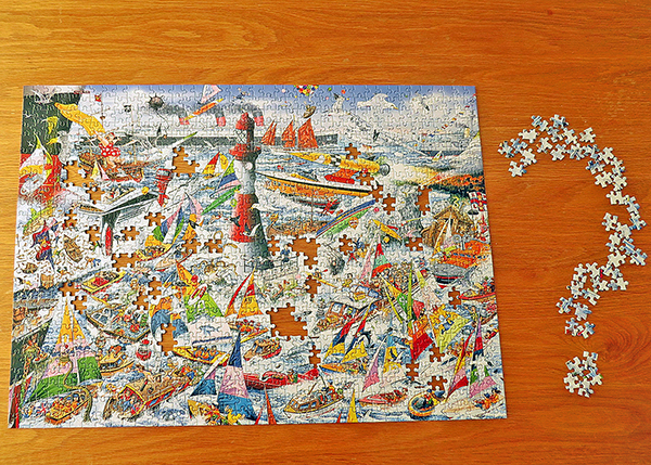 'Puzzling?' by Chris	Smith of Limebrook U3A