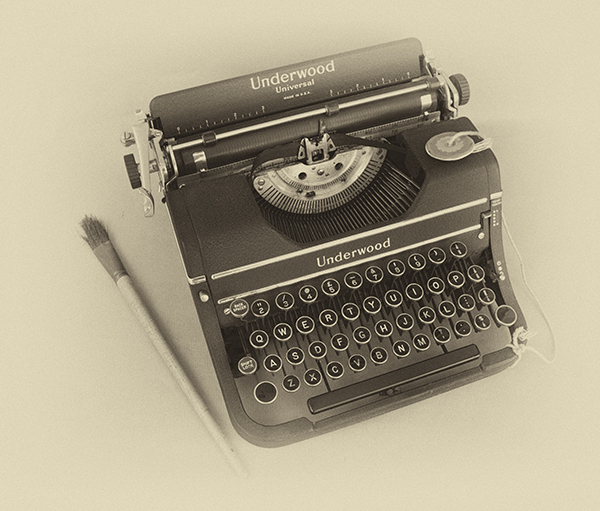 'Typewriter' by Janet Rutter of Devizes & District u3a