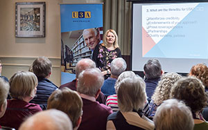 u3a keeping it legal workshop presenter